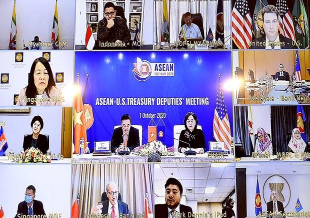 Dialogo de cooperacion financiero-bancaria entre ASEAN y Estados Unidos hinh anh 2
