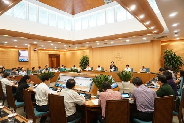 Hanoi por garantizar la prevencion epidemica para reanudar los vuelos internacionales hinh anh 2