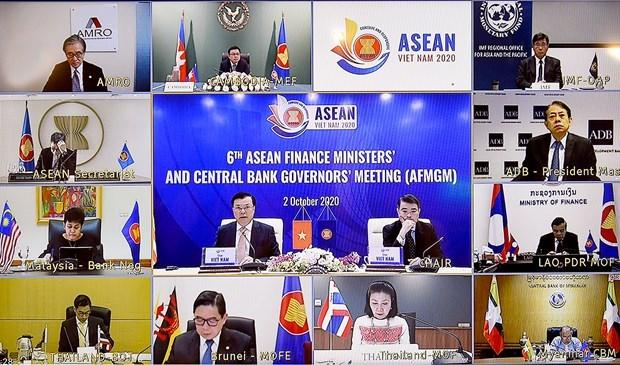 ASEAN se mantiene firme en su compromiso de promover el crecimiento economico hinh anh 1