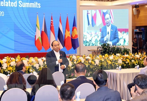 Premier de Vietnam presidira XXXVII Cumbre de la ASEAN y citas anexas hinh anh 1