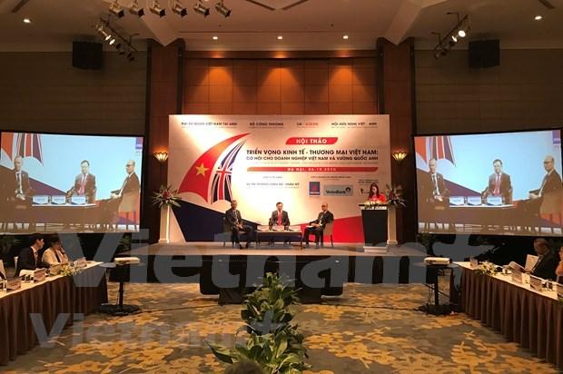 Negociacion de TLC entre Vietnam y Reino Unido apunta a completarse a fines de 2020 hinh anh 1