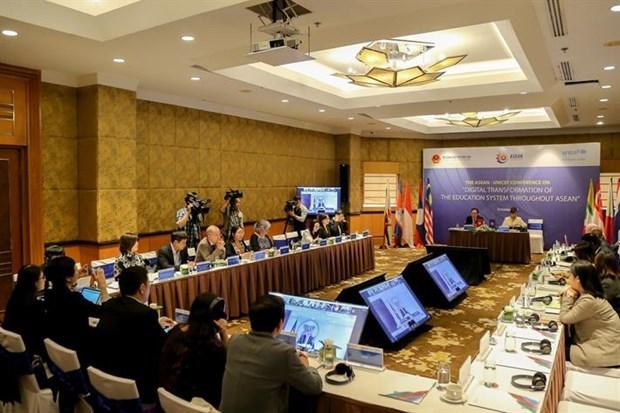 Impulsan transformacion digital en sistemas educativos de la ASEAN hinh anh 1