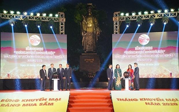 Hanoi por empezar el Mes de la Promocion 2020 hinh anh 1