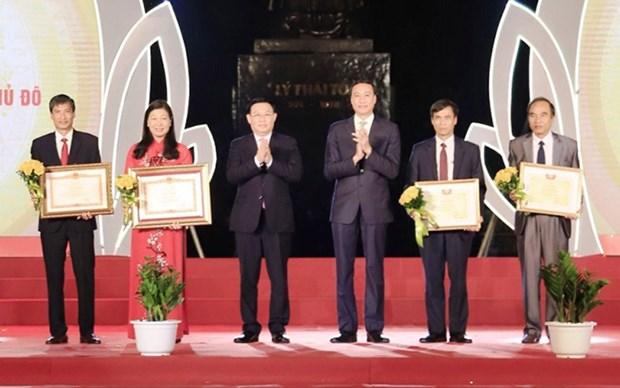 Hanoi celebra el 90 aniversario del Dia Tradicional del Frente de la Patria de Vietnam hinh anh 1