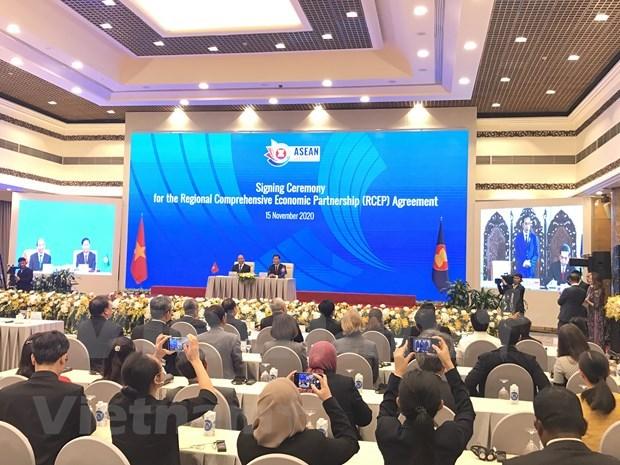 Acuerdo comercial RCEP abre mas oportunidades para Vietnam hinh anh 3