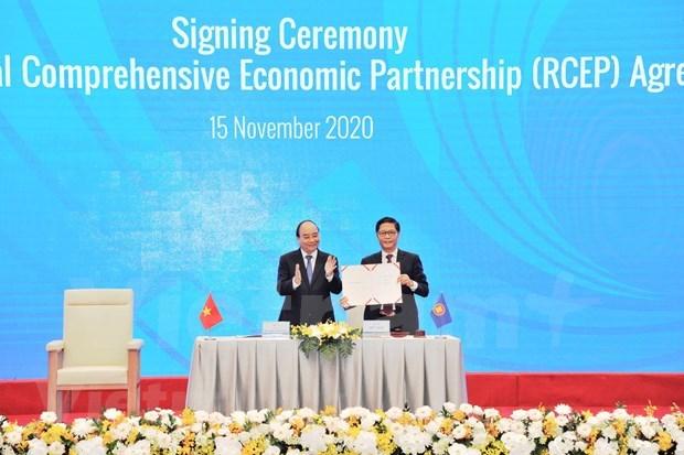 Acuerdo comercial RCEP abre mas oportunidades para Vietnam hinh anh 1