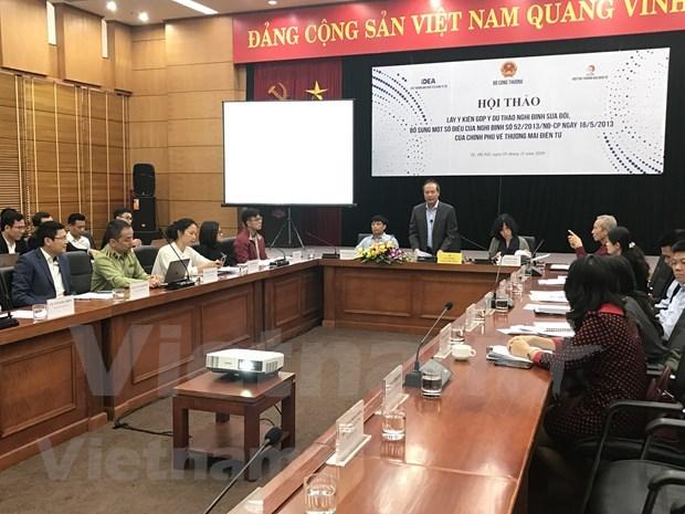 Vietnam busca garantizar la competencia justa en el comercio electronico hinh anh 1