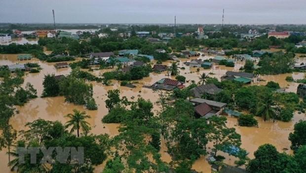 Climatologos mundiales estudian tormentas e inundaciones severas en Vietnam  hinh anh 1