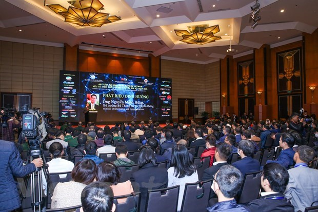 Empenado Vietnam en afirmar su soberania y prosperidad en el ciberespacio hinh anh 1