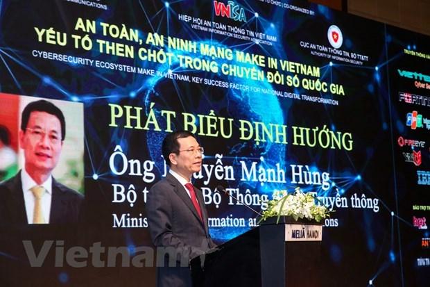Empenado Vietnam en afirmar su soberania y prosperidad en el ciberespacio hinh anh 2