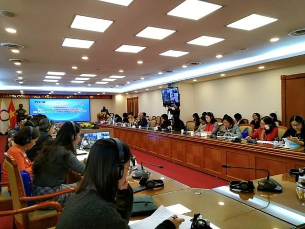 Promueven oportunidades de desarrollo y cooperacion de Vietnam en comunidad francofona hinh anh 3