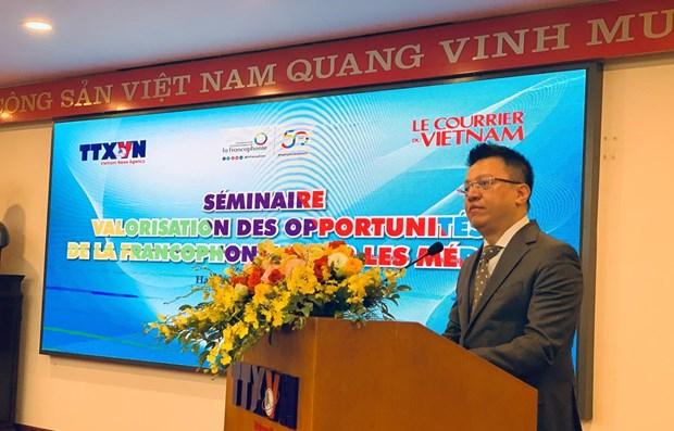 Promueven oportunidades de desarrollo y cooperacion de Vietnam en comunidad francofona hinh anh 1