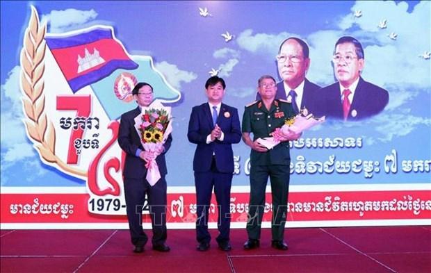 Vietnam y Camboya fomentan nexos de amistad tradicional y cooperacion integral hinh anh 1