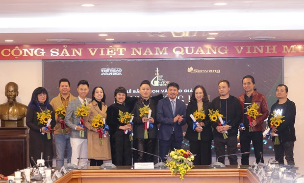 """Premios """"Cong hien"""" de VNA reconocen a los artistas vietnamitas mas dedicados a la musica hinh anh 1"""