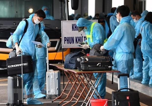 Vietnam reporta un nuevo caso importado de COVID-19 hinh anh 1