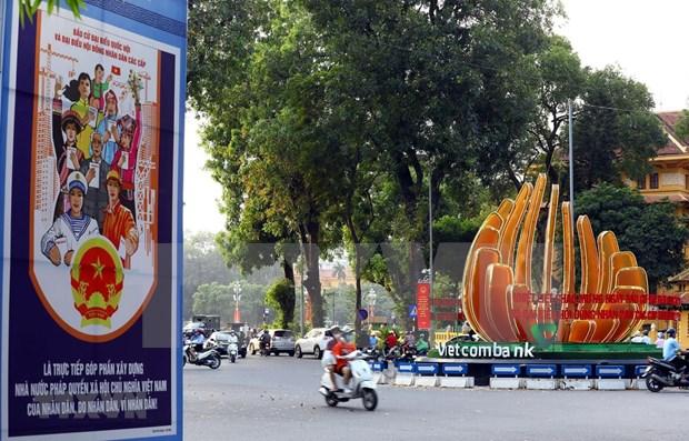 Campana electoral en Vietnam cerro de acuerdo con la ley y de manera flexible y segura hinh anh 1