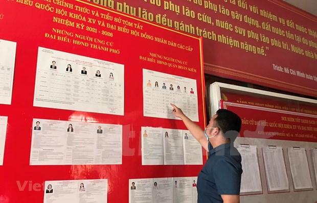Elecciones parlamentarias 2021: Votantes vietnamitas eligen a personas talentosas para el pais hinh anh 1