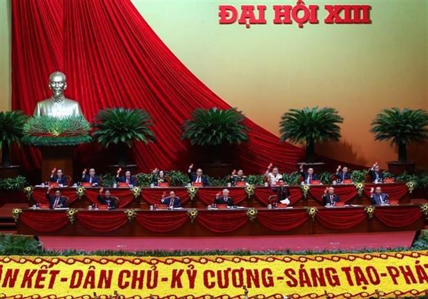 Prensa latinoamericana destaca el XIII Congreso del Partido Comunista de Vietnam hinh anh 1