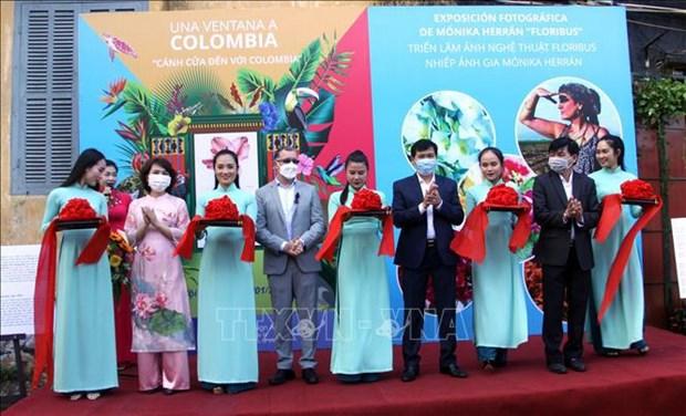 En provincia vietnamita exposicion sobre flores de Colombia hinh anh 1