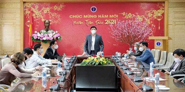 Ciudad Ho Chi Minh por erradicar brote de COVID-19 en aeropuerto Tan Son Nhat hinh anh 1