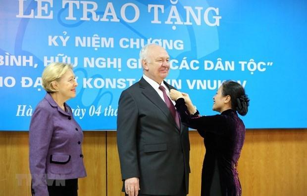 Aprecia Rusia asociacion estrategica con Vietnam en nuevo escenario hinh anh 2