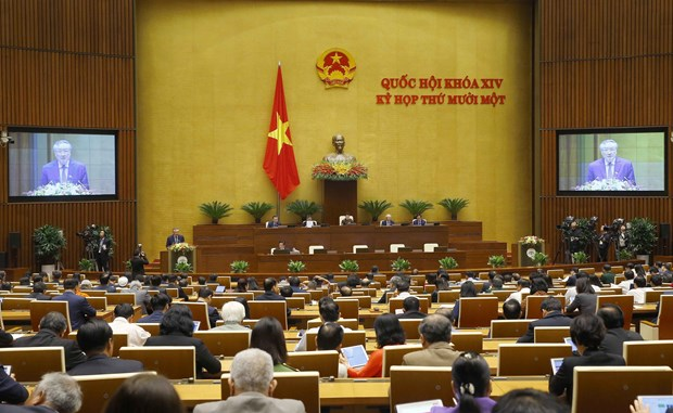 Resaltan aportes de organos judiciales de Vietnam a garantia de seguridad nacional hinh anh 2