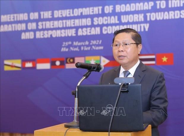 Resalta Vietnam significado de trabajo social para desarrollo de la ASEAN hinh anh 2