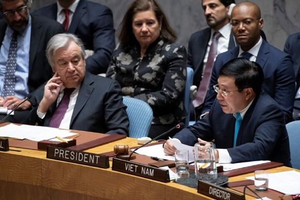Empenado Vietnam en ejercer exitosamente la Presidencia del Consejo de Seguridad de ONU hinh anh 3