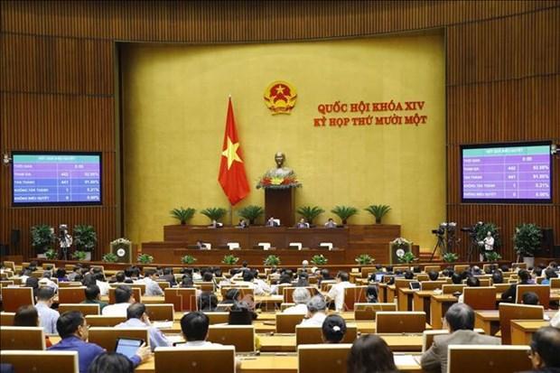 Parlamento vietnamita prosigue perfeccionamiento del aparato del personal hinh anh 1