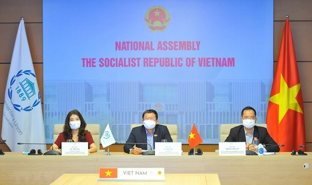 Proponen Vietnam medidas para fomentar lazos interparlamentarios hinh anh 1
