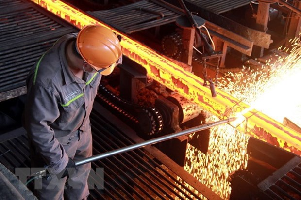 Industria siderurgica de Vietnam registra un fuerte crecimiento hinh anh 1