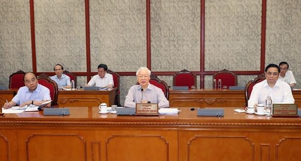 Instan a realizar el maximo empeno en lucha contra COVID-19 en Vietnam hinh anh 1