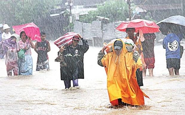 Desastres naturales perjudican paises sudesteasiaticos hinh anh 1
