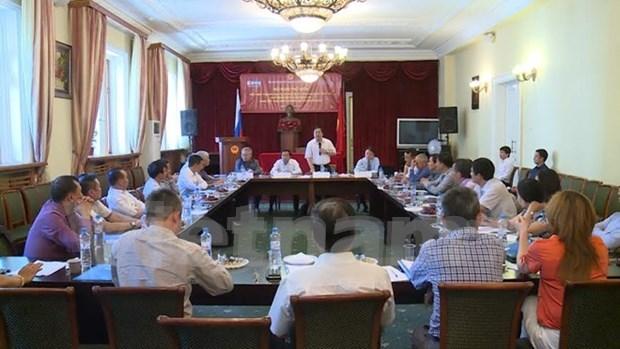 Actualizan a empresas TLC entre Vietnam y UEE hinh anh 1