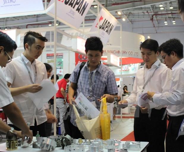 Exposicion de maquinarias abre sus puertas en Ciudad Ho Chi Minh hinh anh 1