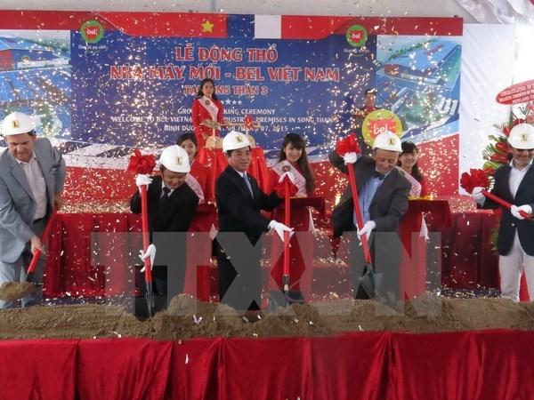 Edifica grupo frances Bel segunda fabrica de queso en Vietnam hinh anh 1