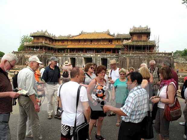 Aumentan llegada de turistas extranjeros a Vietnam hinh anh 1