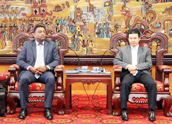 Buscan grupos espanoles oportunidades de inversion en Vinh Phuc hinh anh 1