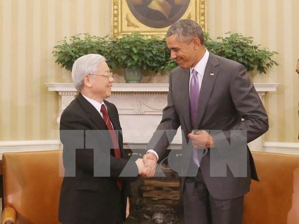Firman Vietnam y EE.UU. memorando sobre cooperacion en mision de paz hinh anh 1