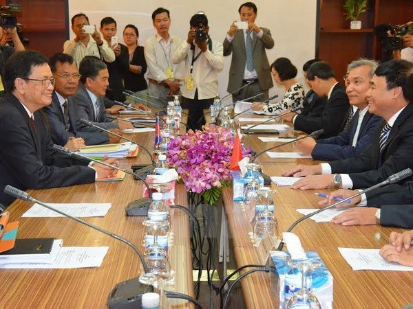 Vietnam y Cambodia aceleran demarcacion fronteriza hinh anh 1
