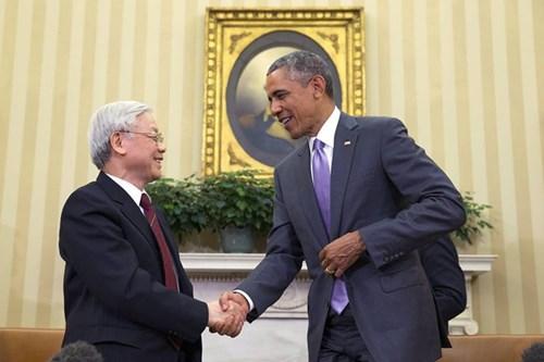 Abren nuevo capitulo de los lazos Vietnam- EE.UU. hinh anh 1