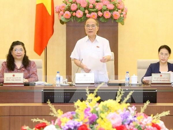 Decimo periodo de sesiones parlamentarias tendra lugar en octubre hinh anh 1