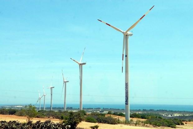 Arranca construccion de parque eolico en Binh Thuan hinh anh 1