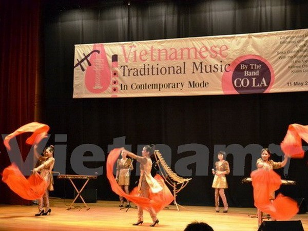 Vietnam acoge festival de musica tradicional de ASEAN hinh anh 1