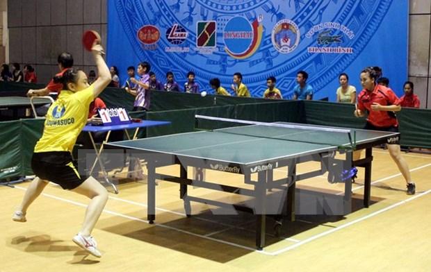 Inauguran torneo internacional de tenis de mesa en Vietnam hinh anh 1