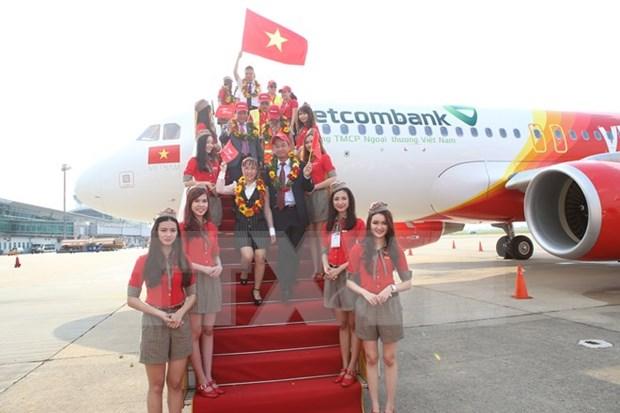 Gana Vietjet Air prestigioso premio de turismo para Asia-Pacifico hinh anh 1