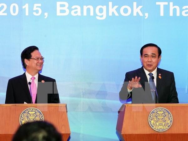 Vietnam – Tailandia vigorizan asociacion estrategica hinh anh 1
