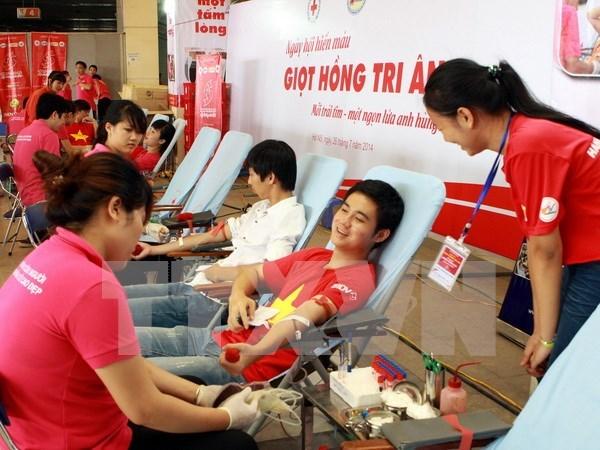 Campana humanitaria de donacion de sangre llega a Hanoi hinh anh 1