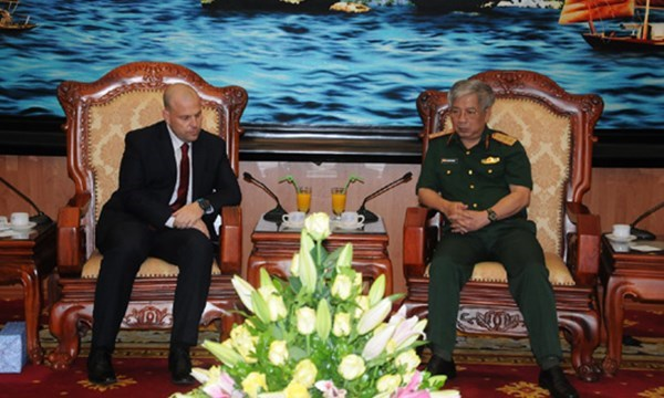 Vietnam e Israel robustecen nexos de defensa hinh anh 1