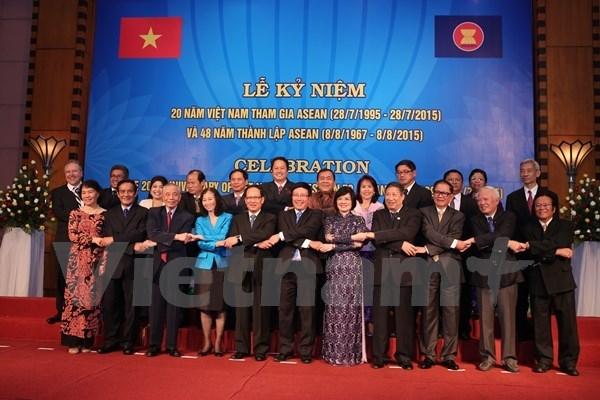 Vietnam celebra 20 anos de incorporacion en ASEAN hinh anh 1